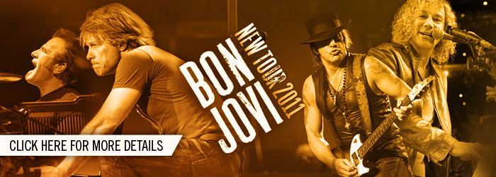 Bon Jovi Announces 2011 Tour