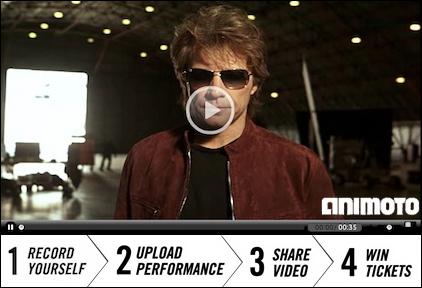 win 2 tickets to a Bon Jovi Live 2011 concert