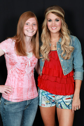 3rd time meeting Carrie! Best birthday ever!