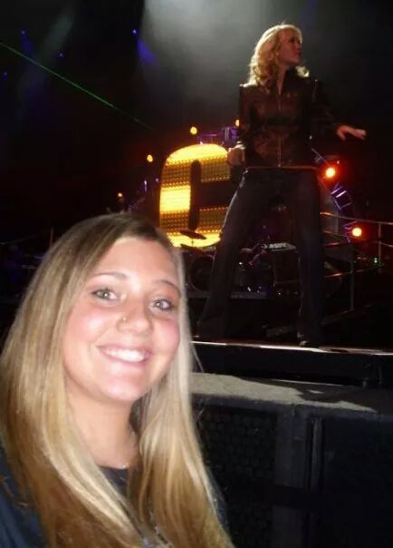 The first time I saw Carrie!!! Always puts on an amazing show!!! Xoxo