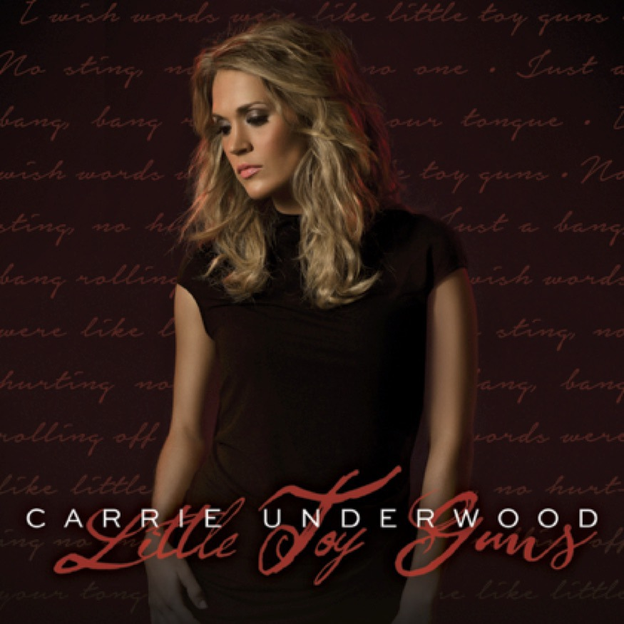 "Carrie Underwood Triggers ""Little Toy Guns"" as Her New Single and Video!"