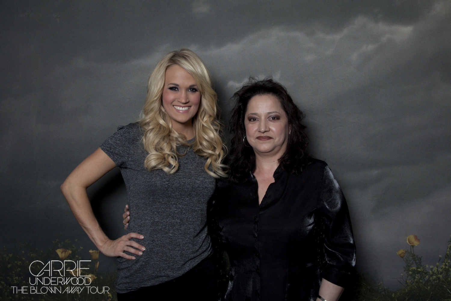 3-2-13 - Finally got to meet my true inspiration, Carrie, and I couldn't say a word and on the verge of tears, so I can only hope I get a second chance to express what you mean to me. Thank you for inspiring me!! :)
