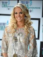 Carrie at the CMA Awards