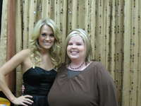Carrie and Kristina in Chattanooga