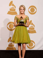 "Congratulations, Carrie, on your GRAMMY win last night for Best Country Vocal Female for ""Last Name"""
