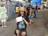 me at country thunder after just getting my m&g passes!!
