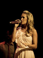 Carrie at the Opry Goes Pink show