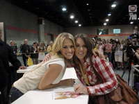 Meeting Carrie @ Conv. Ctr.