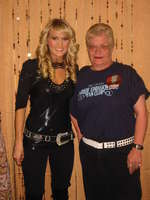 Carrie and Me at Meet and Greet