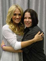 My first time meeting Carrie! Tallahassee, FL :)