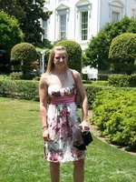 Me on the White House lawn :)