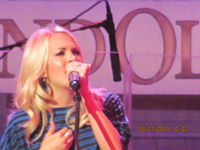 Carrie 2010 grand ole opry