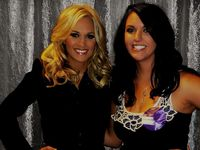 Carrie and me at her concert in Nashville!!!