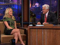 Carrie on Jay Leno