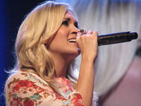 Carrie at the Grand Ole Opry