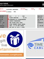 My Carrie Ticket:)