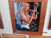 My autograph from Carrie at her show in Auburn Hills -- 12/22/10