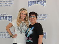 Truly the highlight of my year, Carrie was so sweet!! <3