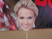 MN State Fair: Carrie Underwood on a Stick