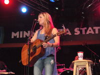 Sunny Sweeney at the MN State Fair Bandshell!