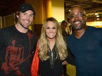 FisherWood & Darius Rucker Backstage At We're All For The Hall
