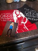 My fan club package came in the mail!!