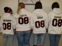Spirit Week '08 - Tatianna, Lauren, Me & Sam