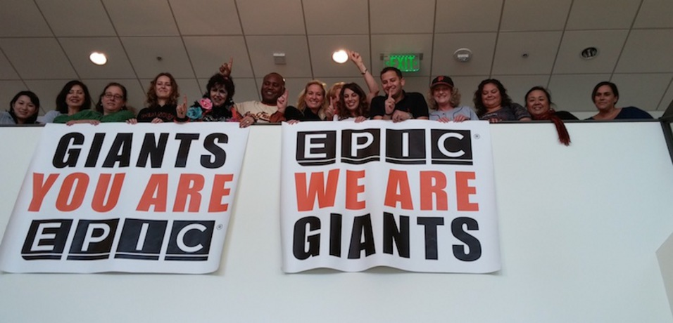 EPIC Celebrates the San Francisco Giants 3rd World Series Win in 5 years!
