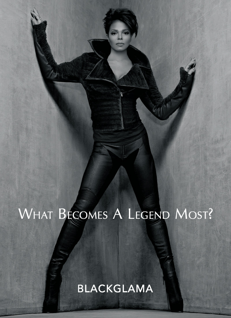 "JANET JACKSON IS ANNOUNCED AS FIRST LEGEND TO BE FEATURED FOR THE SECOND CONSECUTIVE YEAR IN BLACKGLAMA'S RENOWNED ""WHAT BECOMES A LEGEND MOST?"" CAMPAIGN"