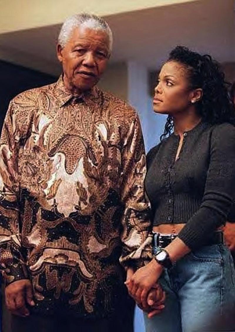 Janet Remembers President Nelson Mandela