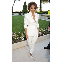 Janet serving as Chair for the amfAR Cinema Against AIDS Event 2013