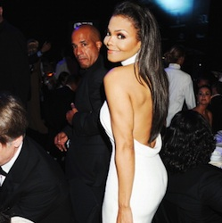 Janet at amfAR's Cinema Against AIDS Cannes 2012