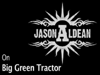 Jason On Big Green Tractor