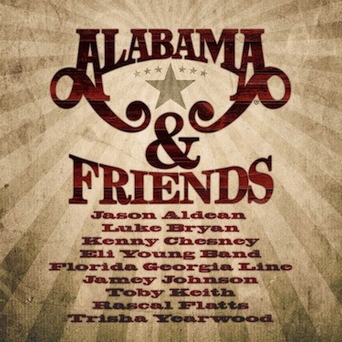 ALABAMA & Friends Arrives In Stores Tuesday, August 27!
