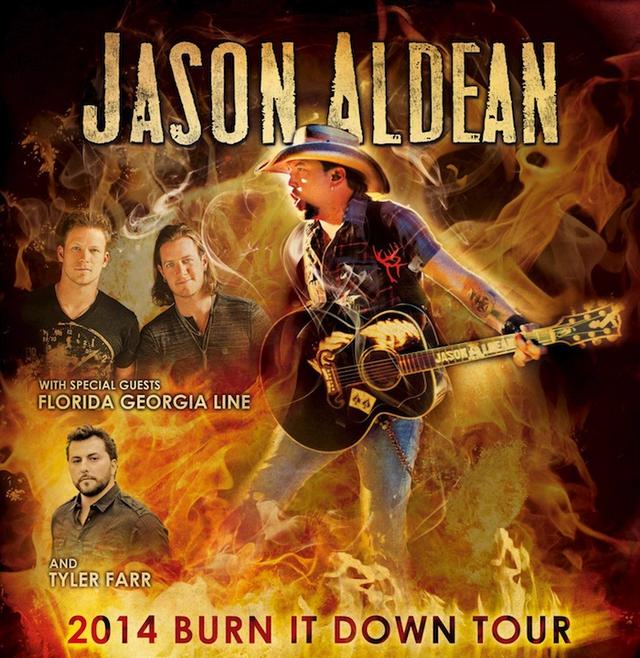 JASON ALDEAN SHARES 2014 TOUR DETAILS