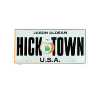 Hicktown License Plate Cover