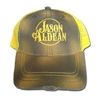 Neon Yellow Jason Aldean Cap