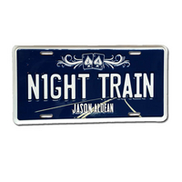 Night Train License Plate Cover