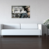 Personalized My Kinda Party Plaque Replica Wall Decal