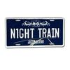 Night Train License Plate Cover