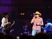 Jason & George Strait: Bossier City, LA 1/9/14