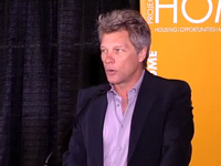 Grand Opening of JBJ Soul Homes - Jon Bon Jovi