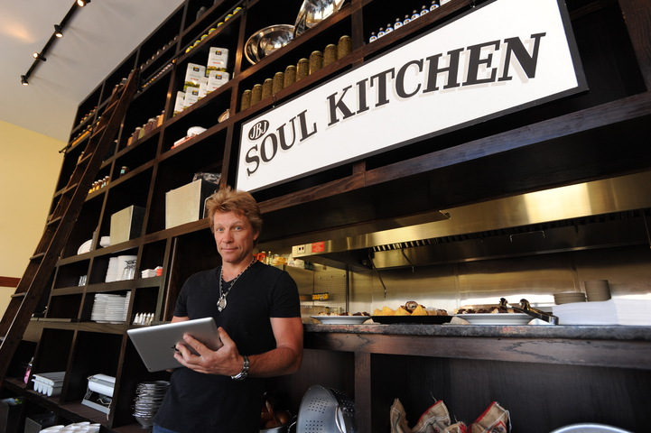 From the Soul Kitchen, where the project REACH developer challenge was announced today, Jon Bon Jovi demonstrates how efficiently a care provider will be able to access information about other resources for those in need.