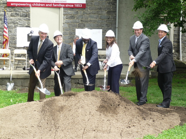 Northern Children's Services Merrick Hall Groundbreaking Ceremony
