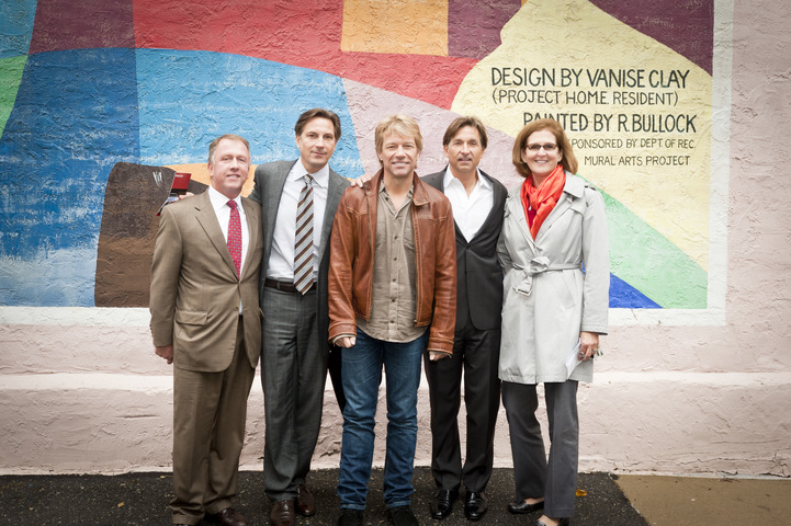 JBJSF Board Members at the Groundbreaking Ceremony for JBJ Soul Homes in Philadelphia, PA