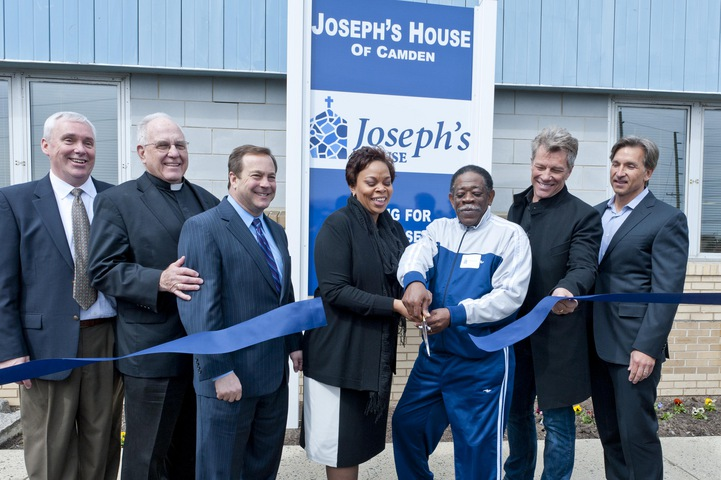 Joseph's House of Camden Celebrates Official Opening with  Ribbon Cutting Ceremony