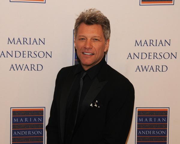 Jon Bon Jovi Receives 2014 Marian Anderson Award