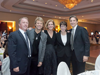 JBJSF Board Members Leo Carlin, Jon Bon Jovi, Mimi Box, Sister Mary Scullion, and Steve Perna