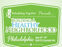 JON BON JOVI SOUL FOUNDATION JOINS REBUILDING TOGETHER AND LOWE'S TO BUILD A HEALTHY NEIGHBORHOOD FOR PHILADELPHIA