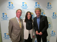 Honorees of the Evening: Leo Carlin, Olivia Harrison, and Jon Bon Jovi